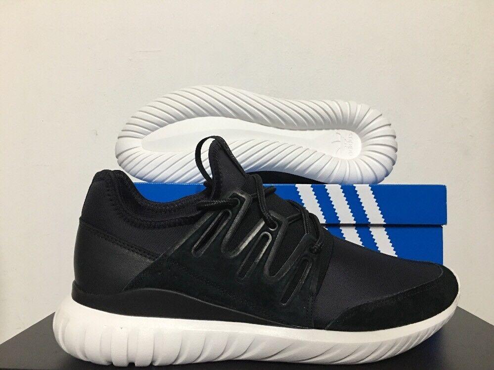 Adidas Originals Tubular Radial Core Black Crystal White SZ 10 [AQ6723]