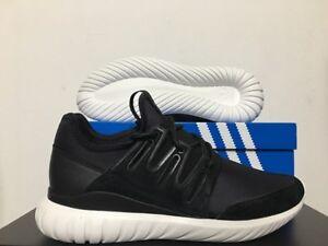 Image is loading Adidas-Originals-Tubular-Radial-Core-Black-Crystal-White- f733a9b6c