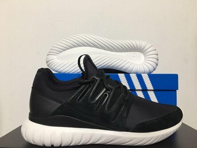 3f7ec5a79dce Adidas Originals Tubular Radial Core Black Crystal White SZ 10  AQ6723