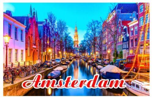 Amsterdam SOUVENIR HOLLAND Fridge Magnet Photo Magnet Gift Ideas Deco