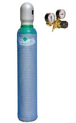 CO2 Adapter Für Druckminderer von Mehrweg auf Einwegflasche M10x1 Schutzgas NEU