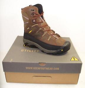 6a7c4d8a9add NEW Men s KEEN 1013256 Utility Minot 600G Cascade Brown Work Boots ...