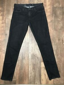 AG-Adriano-Goldschmied-The-Stilt-Cigarette-Leg-Skinny-Jeans-Gray-Size-29-8