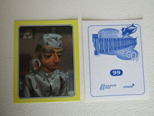 e25 Cardsinc 2002 Carlton ~ Thunderbirds Are Go Stickers 1-120  Foil  Variants