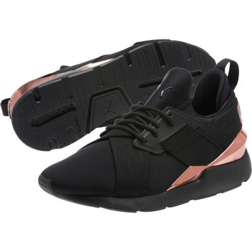 7 36704701 5 Deportivo Musa Puma Rosa Metal Oro Negros Size Zapatos Arte 8qwgZPwS