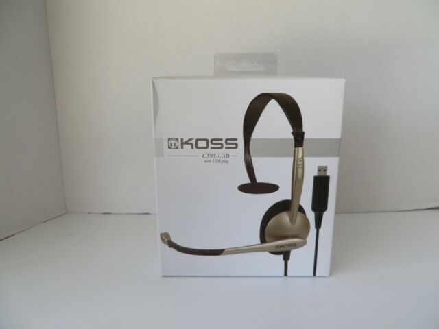 CS95-USB Koss Communications USB Headset with Microphone