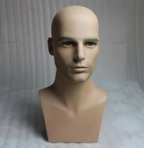 High-Quality-Realistic-Male-Mannequin-Head-Model
