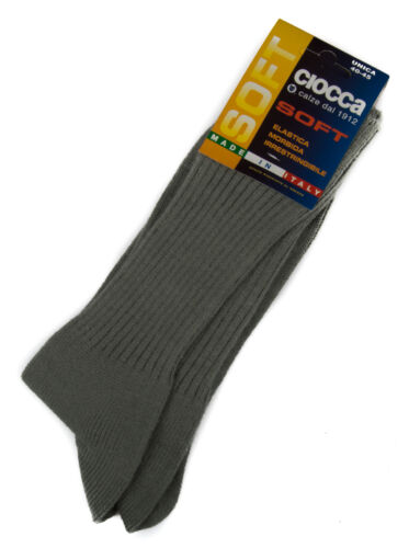 501//1 taglia 40-45 col Calza calzino corto basso uomo sock CIOCCA art PERLA