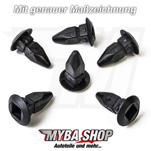30x mère Vis Fixation Clips Protection Revêtement Pour VW AUDI n90821401