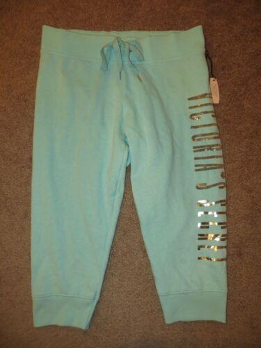 Pantaloni paillettes blu felpa Essentials scuro Supermodel di Victoria's Xs S Secret a con Nwt acra4w5Hq