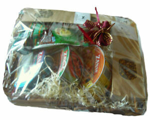 Geschenkkorb-7-tlg-Feinkost-Kraeuter-und-Gewuerze-fix-und-fertig-in-Geschenkfolie