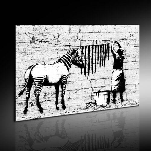 Banksy Graffiti Art De Zèbre Image Image Impression D/'art Sur Toile