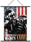 NECA Watchmen - Wall Scroll Comedian Pop Art