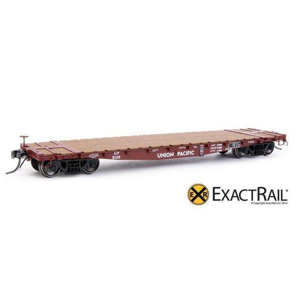 EXACTRAIL HO Union Pacific GSC 42' Flat Car UP  Repaint  EP-81202-3