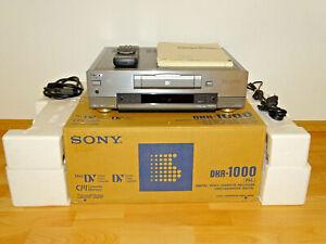 Sony DHR-1000 High-End DV-Recorder inkl. FB/BDA, OVP&NEU, 2 Jahre Garantie