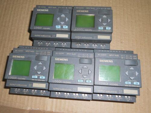 1 pcs Siemens LOGO 12//24RC 6ED1 052-1MD00-0BA5 LOGIC MODULE 12//24V DC//RELAY