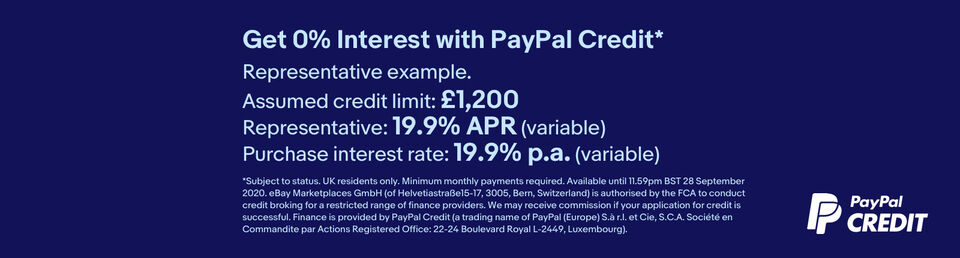 Learn more - Get 0% interest for 12 instalments*