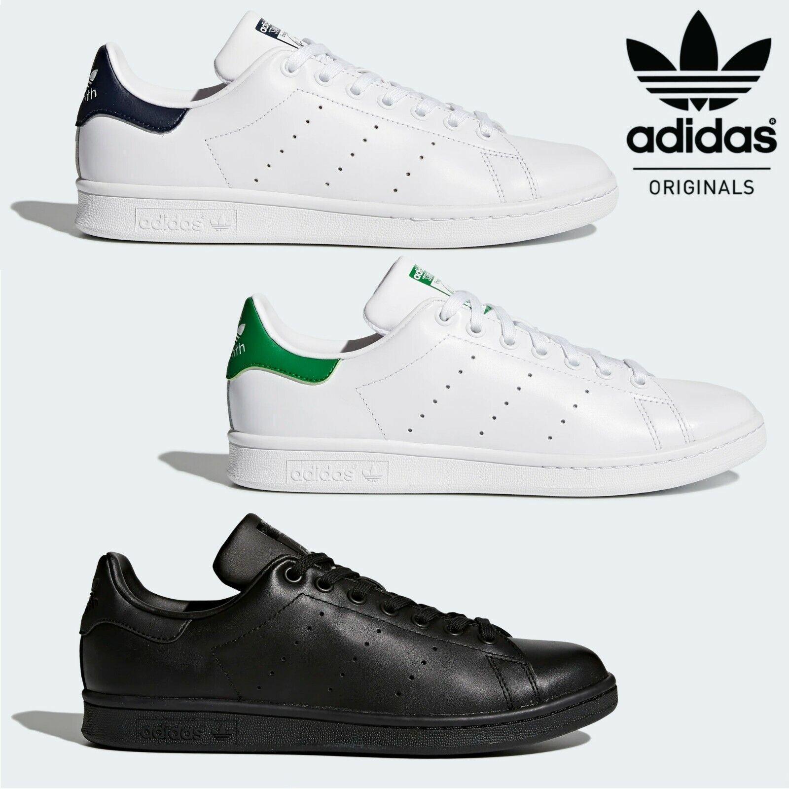 Adidas Stan Smith Classic Cuero Tenis Zapatos Retro Entrenadores ✅ ✅ entrega 24hr