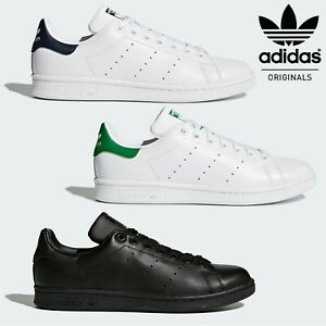 Adidas-Stan-Smith-Classic-Leather-Tennis-Shoes-Retro-Trainers-24hr-DELIVERY