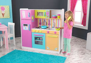 Kidkraft Deluxe Big N Bright Kitchen Toy Set Food Kids Pretend Play
