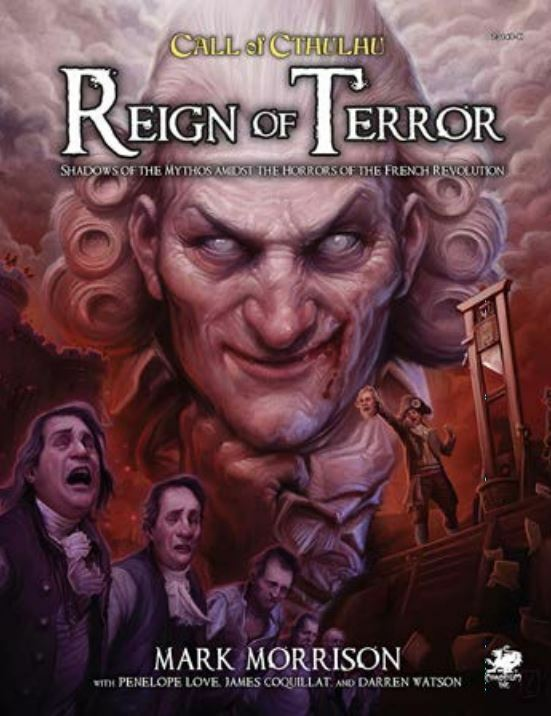 Call of Cthulhu 7th edition RPG - Reign of Terror