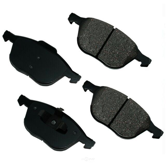 Disc Brake Pad Set-ProACT Ultra Premium Ceramic Pads Front Akebono ACT1044