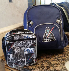 Pottery Barn Kids Darth Vader Star Wars Backpack W Free