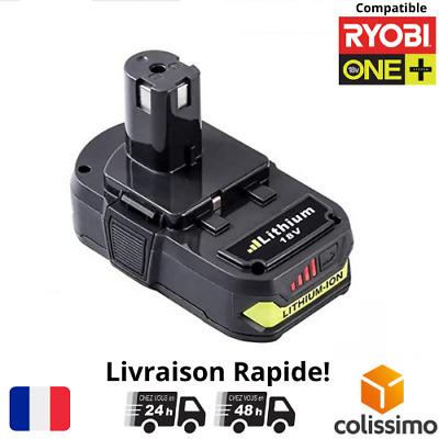 2x Batterie pour Ryobi One Plus 2.5Ah 18V RB18L25 RB18L50 P108 P107 P104 P780 FR