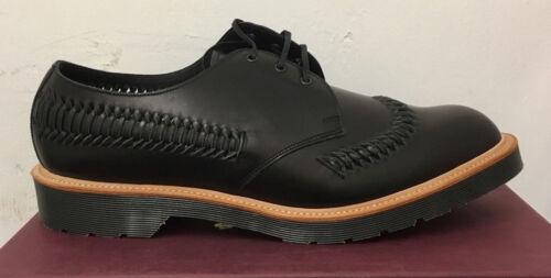 de Reino 5 zapatos cuero Beaumont tamaño Unido Martens Weaver negro Dr 6 8xR7tt