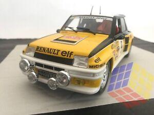 Renault 5 Turbo Rallye Monte Carlo 1981 # 9 J.ragnotti / Escala 1/18 (ixo) Altaya