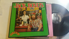 JACK BONUS S/T LP NM GRUNT JEFFERSON AIRPLANE STARSHIP 1972 w/book rare ftr1005!