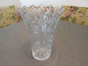 Beautiful-Vintage-WATERFORD-Ireland-Crystal-Glass-10-034-Vase