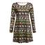 Plus-Size-Womens-Christmas-Mini-Swing-Dress-Xmas-Party-Long-Tops-T-Shirt-AU-5XL thumbnail 14