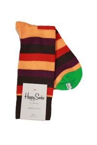 Sock Size 10-13 Happy Socks Men/'s Multi Striped Socks