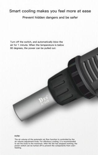 DES 560B 560C Heat Gun Digital Display Hot Air Blower Desoldering Station