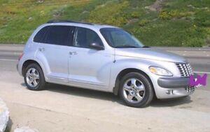 2003 Chrysler PT Cruiser black