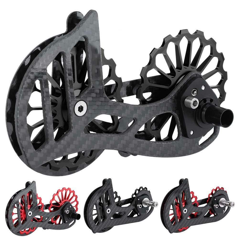 Radfahren Road Fahrrad Large Guide Wheel Fahrrad Rear Derailleur Ceramic Bearing New