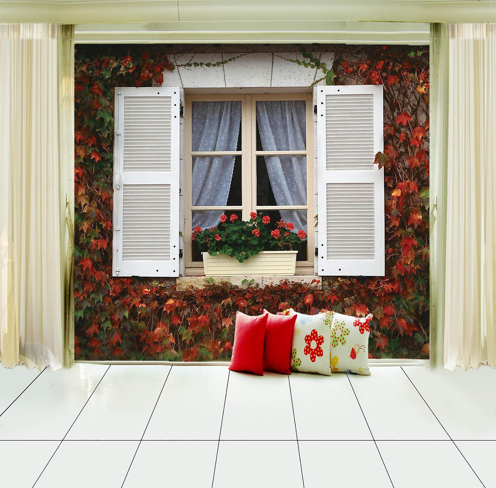 3D Weißes Pflanze Fenster 89 Tapete Wandgemälde Tapete Tapeten Bild Bild Bild Familie DE | Auf Verkauf  2188c1
