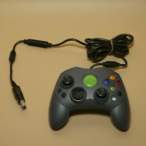XBOX-Original-Gray-Controller-Limited-Japan-Genuine-Microsoft-with-Adapter