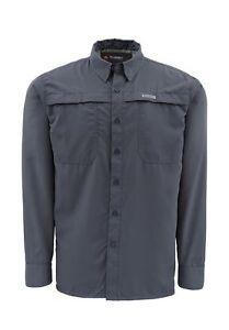 Simms EBBTIDE Long Sleeve Shirt ~ Nightfall NEW ~ Closeout Size Large