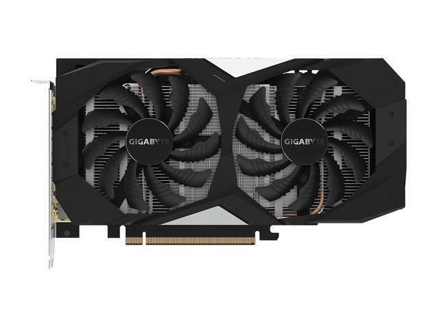 GIGABYTE GeForce GTX Ti Card, 2 x VGA 192-Bit
