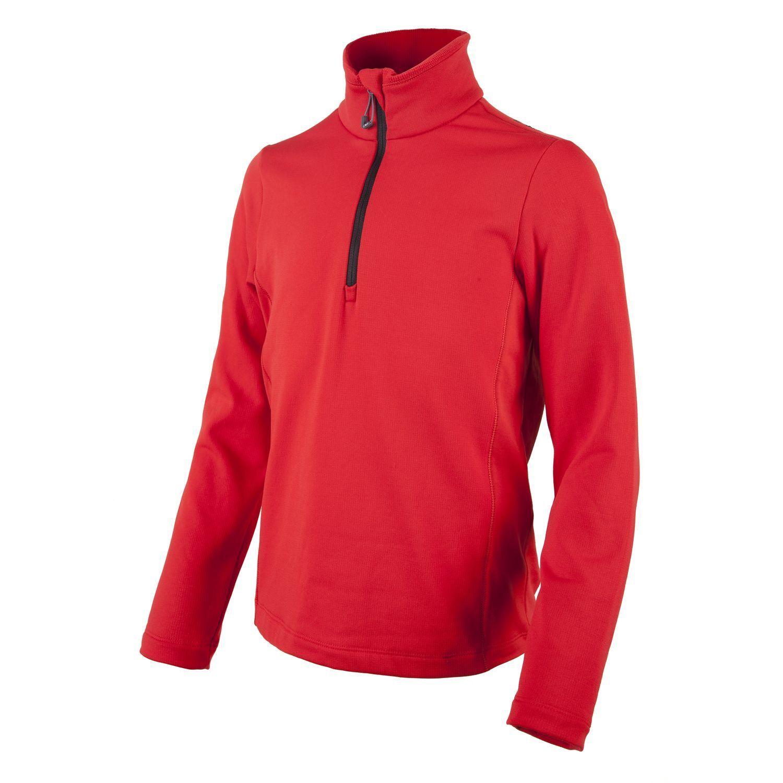 CMP Fleece övre delen av funktionell skjorta Tillfällig skjorta Röd sträckning Isolering