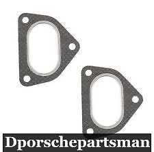 Porsche 911 { 2 }  NEW #NS Exhaust Flange 930 Gasket-Heat Exchanger Outlet