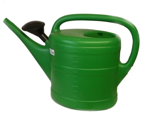 Watering Can LARGE 14 Litre With Plastic Rose Lightweight Strong Plastic Garden
