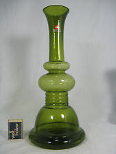 "70´s Pop Art ""bubble"" design glass vase  Ingrid Glas Glas Vase 670 Gramm  34,5cm"