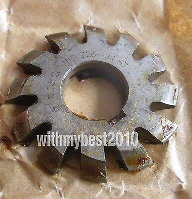 Lot 1pcs HSS M2 20 degree #4 Cutting Range 21-25 Teeth Involute Gear Cutter