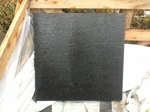 Granite Black Flamed Pavers, Tiles 500x500x20mm- pool, driveways