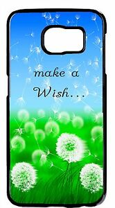 Colorful-Flower-Dandelion-Wish-Quote-Case-Rubber-Hard-Cover-Samsung-Galaxy-amp-Note