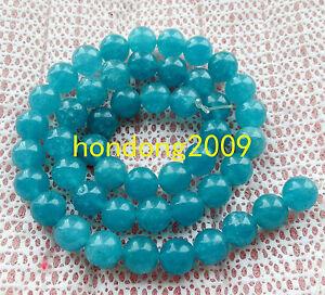 8mm-Natural-Aquamarine-Round-Gems-Loose-Beads-15-034-AAA