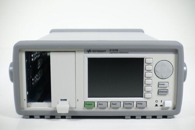 Keysight Used 8163B Lightwave Multimeter, Mainframe - no modules included